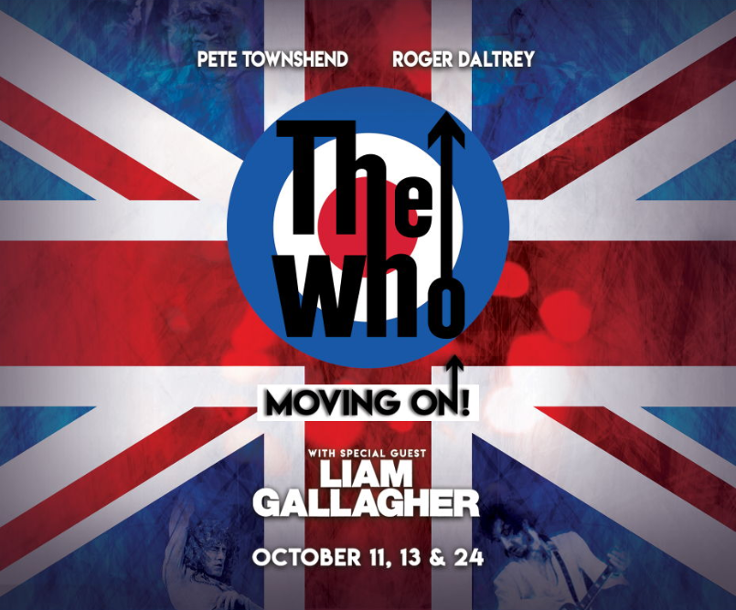 Liam live a Los Angeles con i The Who