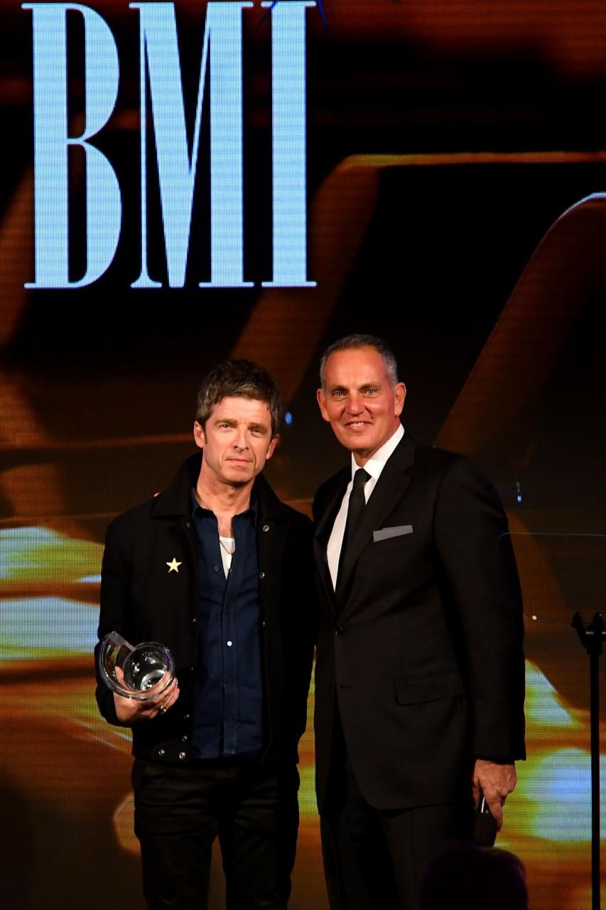 Noel premiato ai BMI Award 2019