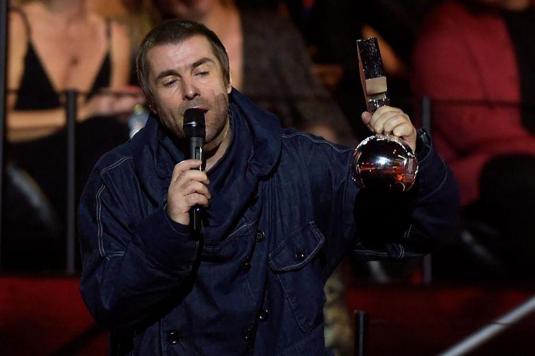 Video della premiazione di Liam con l'award Rock Icon 2019