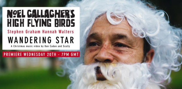 Premiere video Wandering Star di Noel Gallagher