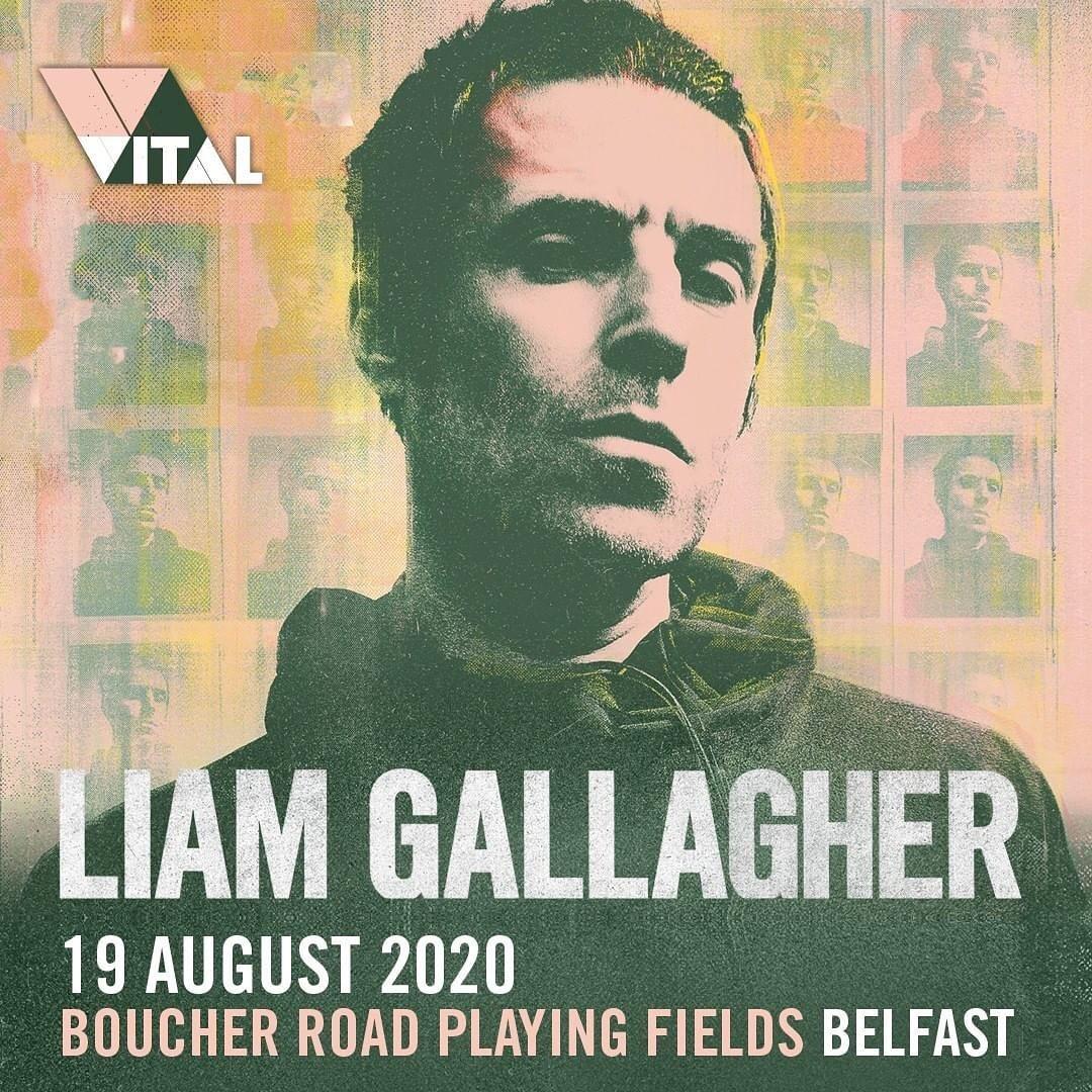 Liam annuncia data a Belfast