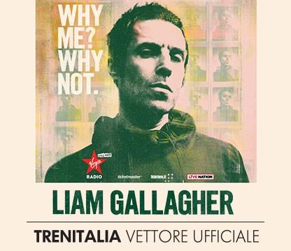 Liam Gallagher: Trenitalia vettore ufficiale risparmi il 50%