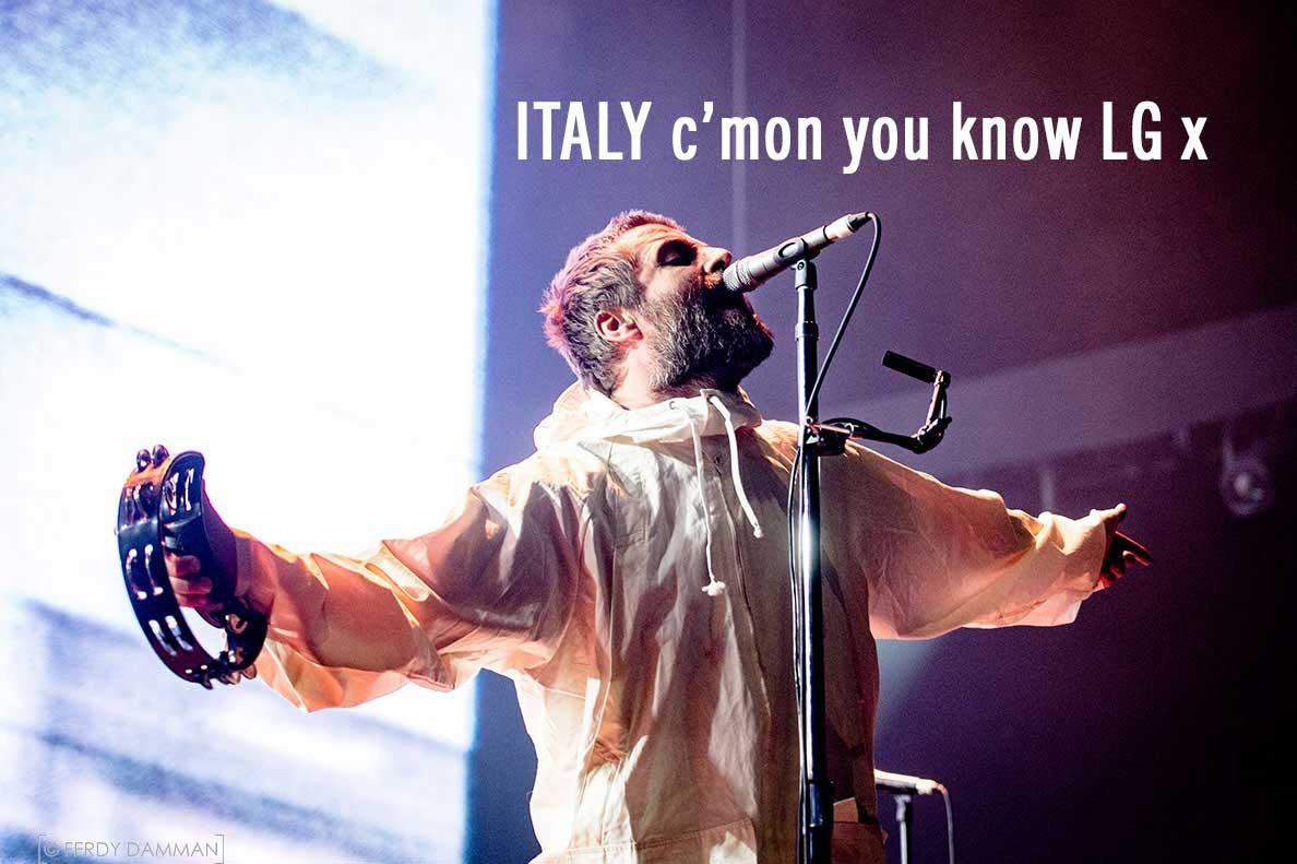 Liam in Italia a Roma e Milano questo weekend - Norme di comportamento per i fans!