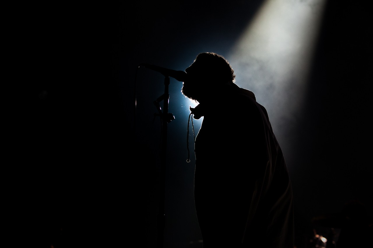 Foto gallery di Liam Gallagher a Vienna