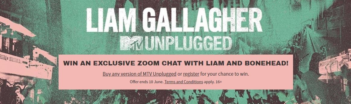 Vinci una Zoom chat con Liam Gallagher e Bonehead
