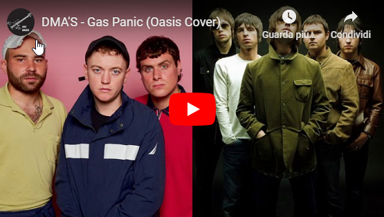 Ascolta la cover di 'Gas Panic' dei DMA's