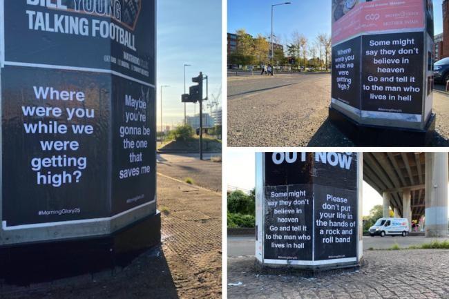Poster Oasis a sorpresa in varie città inglesi
