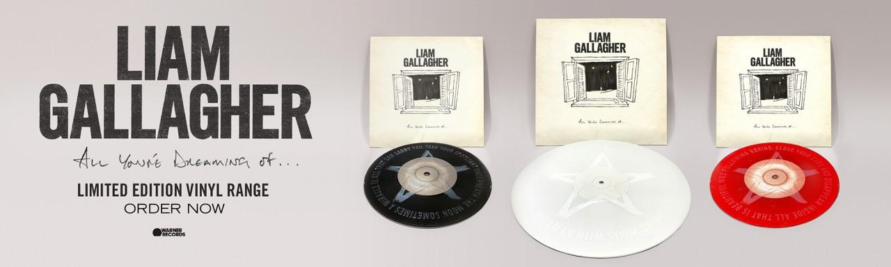 Liam Gallagher All You're Dreaming Of tutti i dettagli