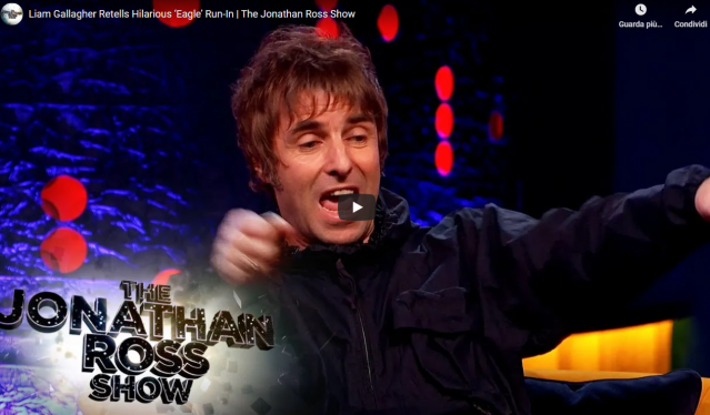 Tutti i video di Liam Gallagher al The Jonathan Ross Show