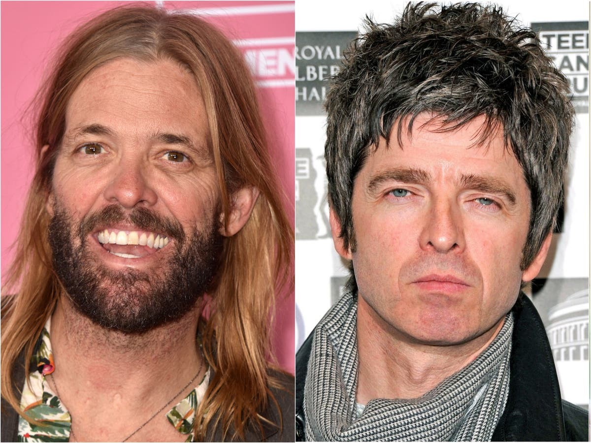 Hawkins dei Foo Fighters a Noel :
