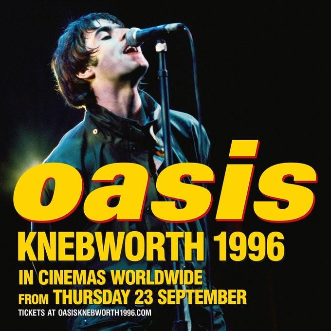 Esce il docu film degli Oasis su Knebworth nei cinema italiani