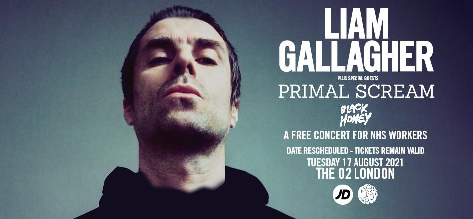 Liam Gallagher riprogramma il suo concerto gratuito per i lavoratori del NHS ad agosto