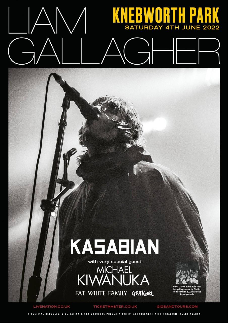 Biglietti Liam Gallagher di Knebworth esaurita la prevendita